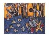 Spinning the Moon, 1991 Giclee Print by Celia Washington