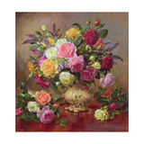 Roses from a Victorian Garden Giclee Print by Albert Williams