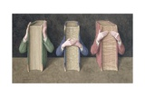 Three Wise Books, 2005 Giclee Print by Jonathan Wolstenholme