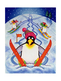 Skiing Holiday, 2000 Giclee Print by Cathy Baxter