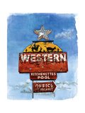 Lone Star, 2004 Giclee Print by Lucy Masterman