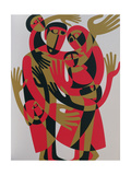 All Human Beings are Born Free and Equal in Dignity and Rights, 1998 Giclee Print by Ron Waddams