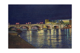 Kingston Bridge, 1993 Giclee Print by Isabel Hutchison