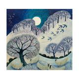 Winter Woolies Giclée-tryk af Lisa Graa Jensen