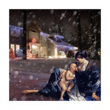 Christmas Night, 2008 Giclee Print by Trygve Skogrand
