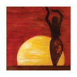 Sun Salute, 2009 Giclee Print by Sabira Manek