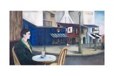 Man at Paris Cafe, 1976 Giclee Print by Bettina Shaw-Lawrence