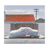 Ghost Car 2, Los Angeles, USA, 2002 Giclee Print by Peter Wilson