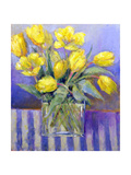 The Tank of Tulips Giclee Print by Karen Armitage