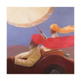 Maharaja at Speed, 2010 Giclee Print by Lincoln Seligman