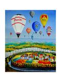 Balloons, 2004 Giclee Print by Radi Nedelchev