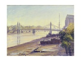Albert Bridge Giclee Print by Julian Barrow