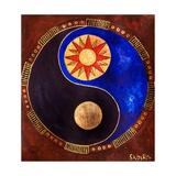 Sun-Moon, 2009 Giclee Print by Sabira Manek