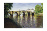 Richmond Bridge, 1993 Giclee Print by Isabel Hutchison