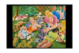 Lady Gardener, 2010 Giclee Print by Tony Todd