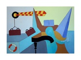 The Last Chance to Say Goodbye to the Steinway, 2009 Giclee Print by Jan Groneberg