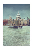 St. Paul's in the Snow Giclee Print by Isabel Hutchison
