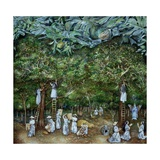 Miraculous Vision of the Virgin in the Orange Orchard, 1996 Giclee Print by James Reeve