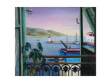 My Window to Italy, 1966 Giclee Print by Bettina Shaw-Lawrence