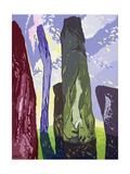 Standing Stones, Callanish, 2003 Giclee Print by Derek Crow