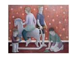 Play, 2010 Giclee Print by Ruth Addinall