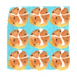 Hot Cross Buns Giclee Print by Anna Platts