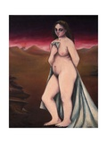 Enigma, Nude in the Desert, 1953 Giclee Print by Bettina Shaw-Lawrence