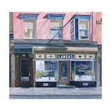 Lanza's Restaurant, 11th Street, East Village, 1994 Giclee Print by Anthony Butera