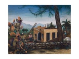 Building a House in Spain, Cactus, 1953 Giclee Print by Bettina Shaw-Lawrence