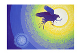 Crow, 1999 Giclee Print by Derek Crow