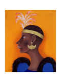 African Princess, 1999 Giclee Print by John Wright