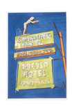 Pueblo Hotel, 2001 Giclee Print by Lucy Masterman