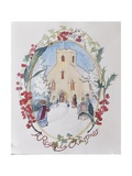 Regency Christmas, 2008 Giclee Print by Caroline Hervey-Bathurst