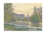 St James' Park, 2010 Giclee Print by Julian Barrow