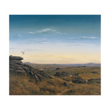 Evening Sky Giclee Print by Simon Cook