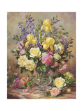 June's Floral Glory Giclee Print by Albert Williams