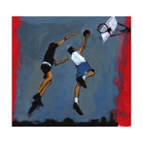 Basketball Players, 2009 Giclee Print by Paul Powis