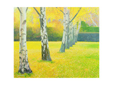 Autumn Gold Giclee Print by William Ireland