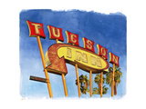 Tucson Inn, 2004 Giclee Print by Lucy Masterman