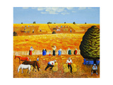 Golden Harvest, 2002 Giclee Print by Radi Nedelchev