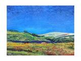 Derbyshire Landscape, 1999 Giclee Print by Trevor Neal
