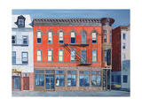 O'sunghai Restaurant, West Village, 1990 Giclee Print by Anthony Butera