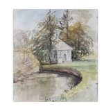 Izaak Walton's Fishing Temple, Dovedale, 2008 Giclee Print by Caroline Hervey-Bathurst