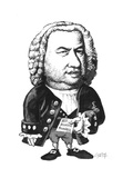 Bach Giclee Print by Gary Brown