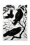 Ravens, 1998 Giclee Print by Nat Morley