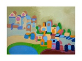 Artists' Colony, 2010 Giclee Print by Jan Groneberg