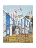 Returning the Blades Giclee Print by Timothy Easton