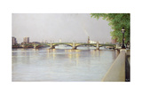Battersea Bridge, 1995 Giclee Print by Isabel Hutchison