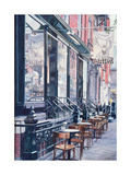 Cafe Della Pace, East 7th Street, New York City, 1991 Giclee Print by Anthony Butera
