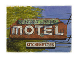 Desert Edge Motel, 2006 Giclee Print by Lucy Masterman